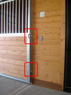 click on image for larger view & OK Corrals Stalls Fencing Doors Horse Stalls Equine Equipment ...